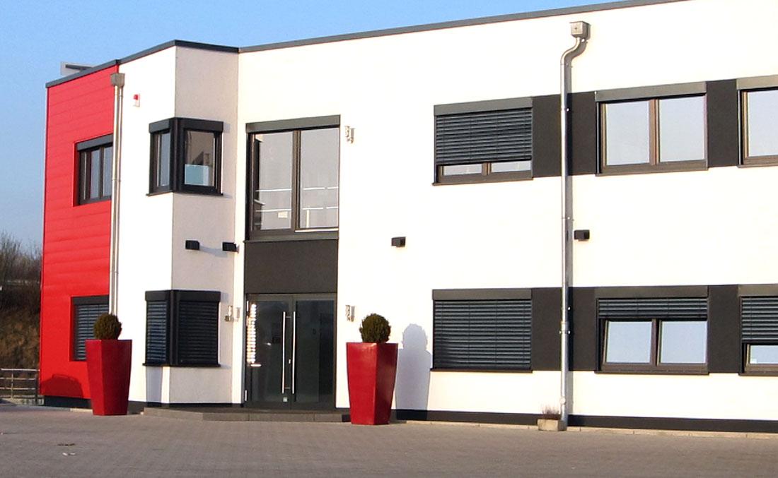 Schröder Logistik Fassadengestaltung