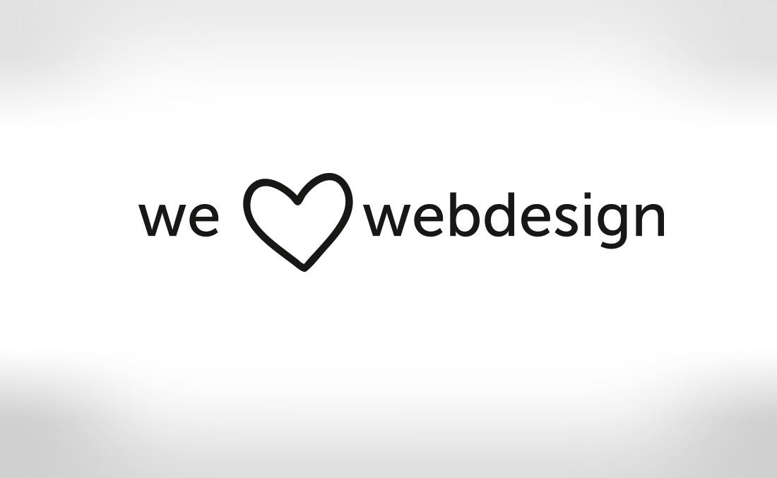 Logo we love webdesign