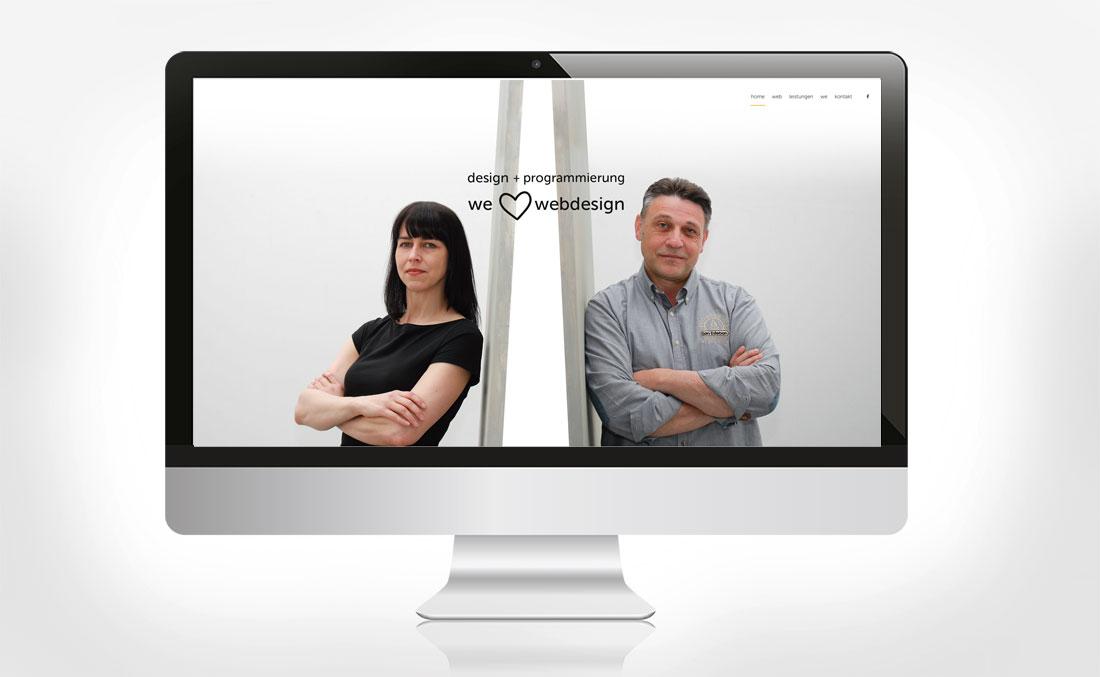 Webseite we love webdesign Home